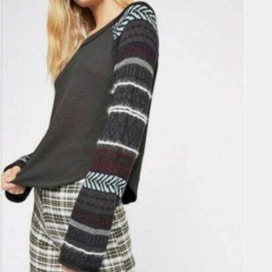 NWT Free People sweater/thermal